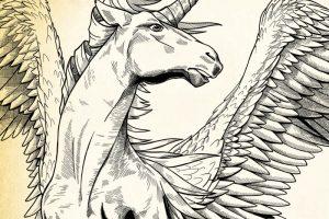 Alchemist pegacorn detail